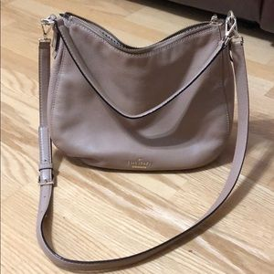 Kate spade tan shoulder/crossbody purse